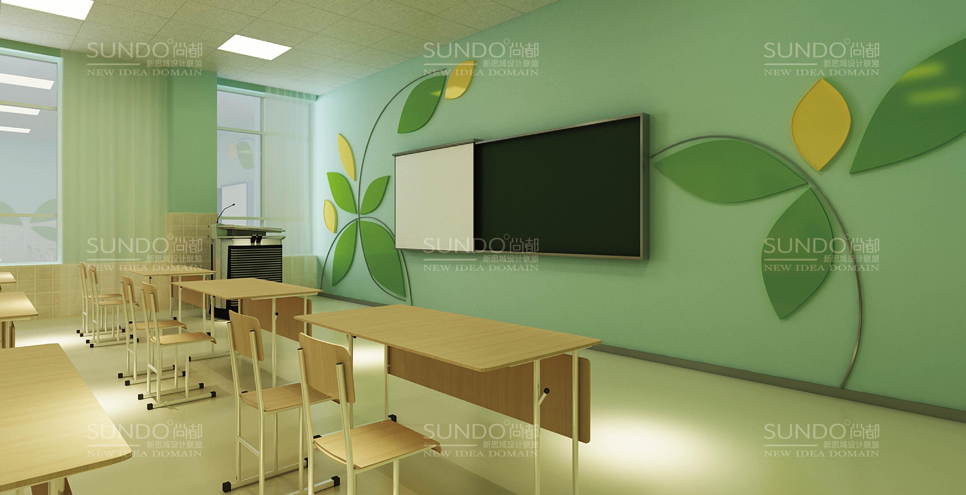 项目名称:济宁市任城幼儿园 校园文化建设 服务内容:导视系统设计,教