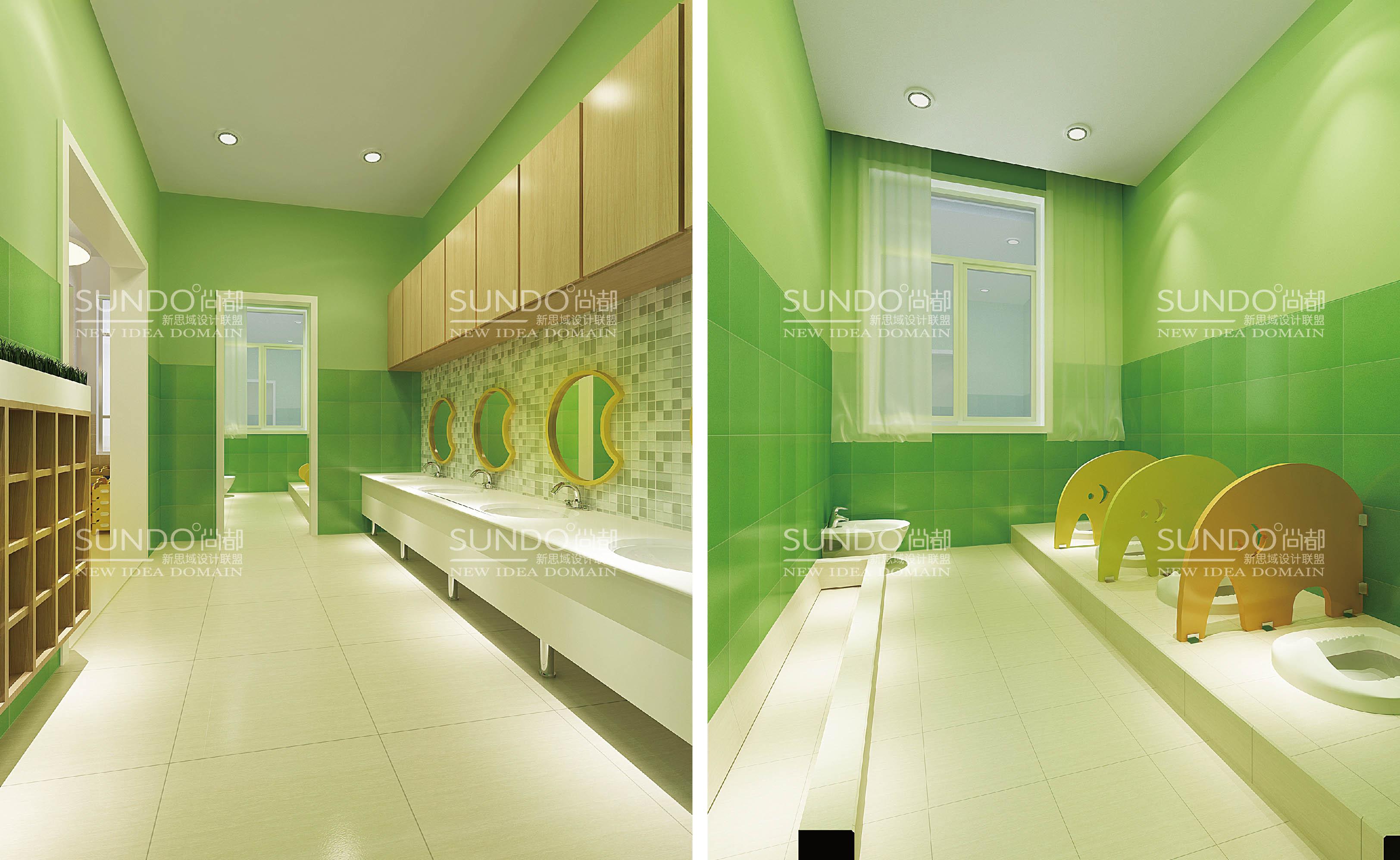 项目名称:济宁市任城幼儿园 校园文化建设 服务内容:导视系统设计